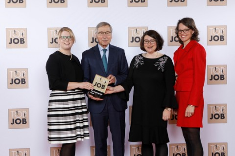 Top Job Award 2019 für die Erwin Müller Group